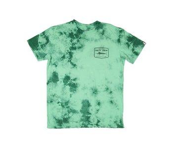 Salty Crew - T-shirt homme stealth tie dye sea foam