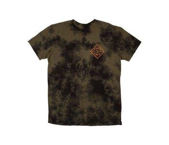 Salty Crew - T-shirt homme tippet tie dye black