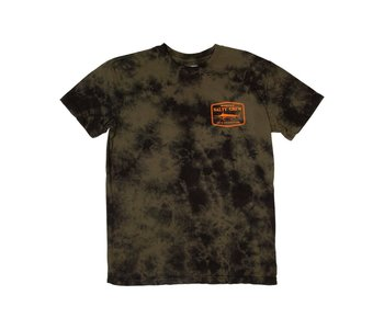Salty Crew - T-shirt homme stealth tie dye black