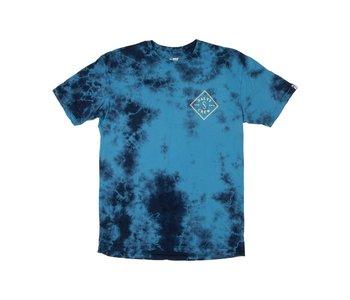 Salty Crew - T-shirt homme tippet tie dye blue
