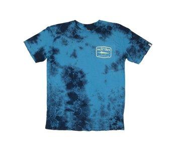 Salty Crew - T-shirt homme stealth tie dye blue