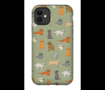 Kaseme - Étui cellulaire kitty green