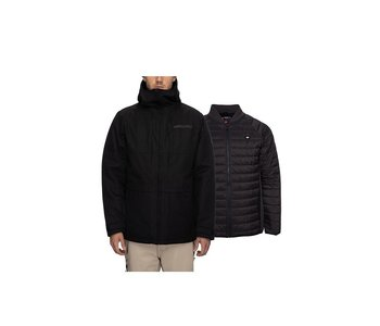 686 - Manteau homme smarty 3 in 1 black