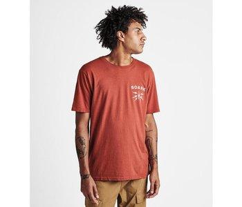Roark - T-shirt homme spark it up dark red