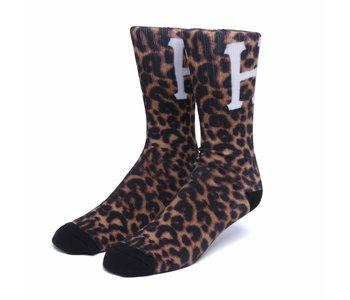 Huf - Bas homme digital leopard