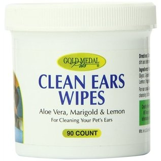 Cardinal Gold Medal Pets Clean Ear Wipes