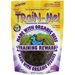Cardinal Crazy Dog Train Me! Mini Organic