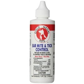 Cardinal Remedy + Recovery Ear Mite & Tick Control 4 oz