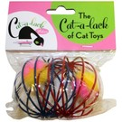 Cat A Lack Cat-a-Lack Cagey Balls 2 pc pack