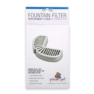 Pioneer Pioneer Pet Fountain Filter - Replacement 3-Pack