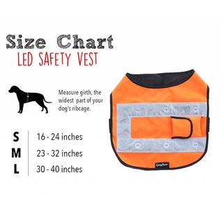 Zippy Paws Zippy Paws LED Vest (3-Sizes)