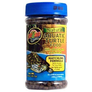 Zoo Med Zoo Med Natural Aquatic Turtle Food Hatchling Formula 1.6 oz