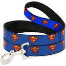 Buckle Down Buckle Down Superman Leash  (2 - COLORS)