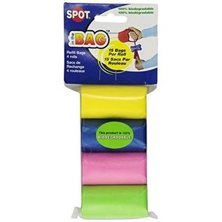 Spot Spot in the Bag - 4 Rolls of Refill Bags