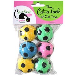 Cat A Lack Cat A Lack Soccer Balls 6 PK