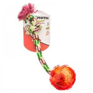 Mammoth Mammoth Flossy Chew Tug with Treat Ball Large
