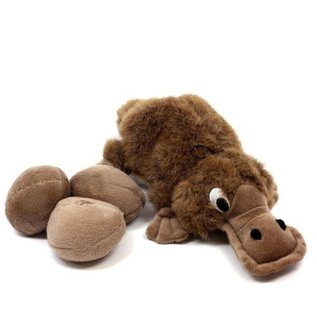 Outward Hound Outward Hound Plush Puppies Egg Babies Platypus
