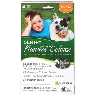 Sentry Sentry Natural Defense Flea & Tick for Dogs