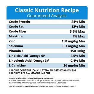 Nature's Select Nature's Select Classic Nutrition Healthy Grain