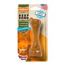 Nylabone Nylabone Puppy Chew Toy, Beef Bone Alternative, Regular