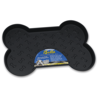 Loving Pet Loving Pets Bella Spill-Proof Bone Shaped Dog Mat