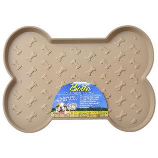 Loving Pet Loving Pets Bella Spill-Proof Bone Shaped Dog Mat