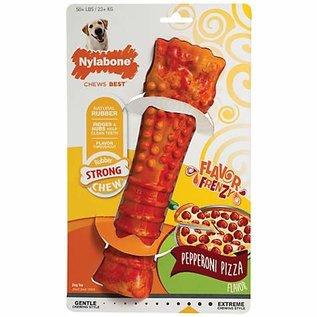 Nylabone Nylabone Pepperoni Pizza Flavor Rubber Chew