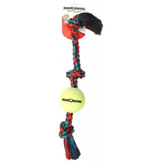Mammoth Mammoth 3 Knot Color Tug With Tennis Ball