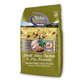 Nutrisource NutriSource Small Bites Chicken & Pea  (2 SIZES) IN STORE PICK UP ONLY