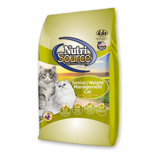 Nutrisource NutriSource Weight Management Chicken & Rice Dry Cat Food - 6.6 lb bag