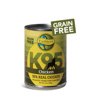 Midwestern Pet Food Earthborn Holistic Grain Free K95 95% Meat Protein Canned Dog Food