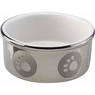Spot Spot Paw Print Titanium Bowl - 5 in