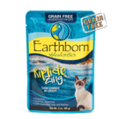 Earthborn Earthborn Holistic Moist Grain Free  Gravy Pouch  (5 FLAVORS) IN STORE PICK UP ONLY Cat Food 3oz