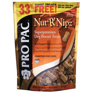 Pro Pac PRO PAC Nut R Nipz Dog Biscuit Treat