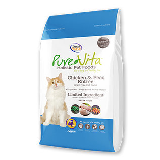 Nutrisource Pure Vita Grain Free Dry Cat Chicken 6.6lbs