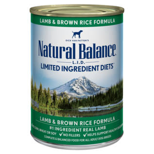 Natural Balance Natural Balance LID Caned Dog Food, 13 oz Cans