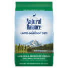 Natural Balance Natural Balance LID Lamb & Brown Rice (3 Sizes) In Store Pick Up Only