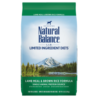 Natural Balance Natural Balance LID Lamb & Brown Rice
