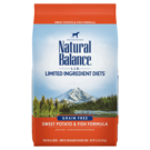Natural Balance Natural Balance LID Sweet Potato & Fish (3 Sizes) In Store Pick Up Only
