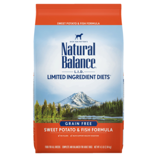 Natural Balance Natural Balance LID Sweet Potato & Fish