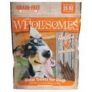 Midwestern Pet Food Wholesomes Grain Free Moist Jerky Sticks,  25 oz (4 Flavors)