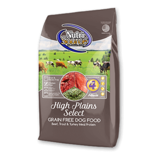 Nutrisource NutriSource Grain Free High Plains 5 lb