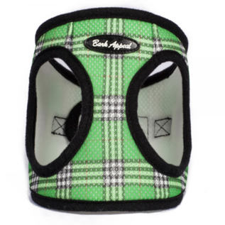Bark Appeal Bark Appeal Plaid Step In Harness