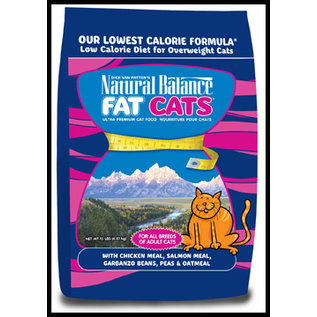Natural Balance Natural Balance Fat Cats Grain Free Chicken & Salmon 6 lbs
