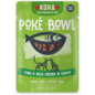 Koha Koha Cat Pouch Poke Bowl 2.8 oz Tuna Duck