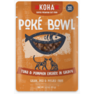 Koha Koha Cat Pouch Poke Bowl 2.8 oz Tuna Pumpkin