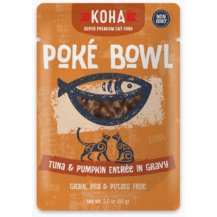 Koha Koha Cat Pouch Poke Bowl 2.8 oz Tuna Pumpkin