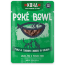 Koha Koha Cat Pouch Poke Bowl 2.8 oz Tuna Turkey