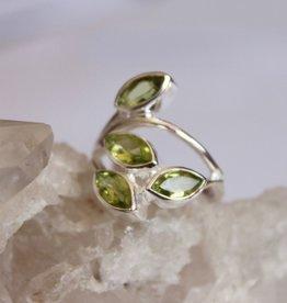 Garnet  or Peridot Ring