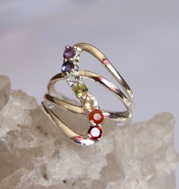Chakra Ring in a wave